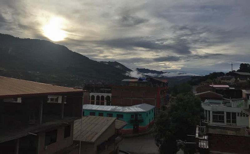 Then the sun finally came out after five days of rain! Caranavi, Yungas, Bolivia  february 2, 2019. Photographer; Nikolaj Kleissl